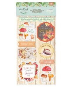 Woodland Friends 3D - Die Cut Toppers