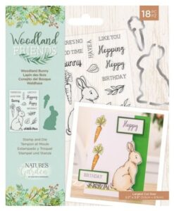 Woodland Friends Stamp & Die - Woodland Bunny