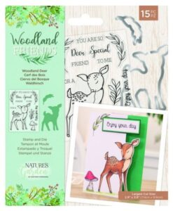 Woodland Friends Stamp & Die - Woodland Deer