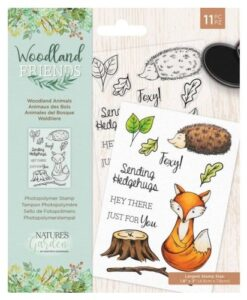 Woodland Friends Clear Stamp - Woodland Animals