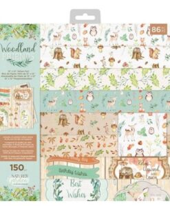 Woodland Friends - Vellum Pad 30cm x 30cm