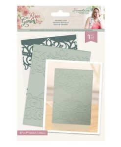 Rose Garden Embossing Folder - Grande Lace