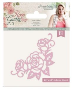 Rose Garden Metal Die - Rose Corner