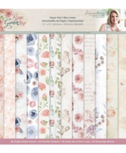 Rose Garden - 30x30 cm Paper Pad