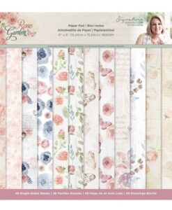Rose Garden - 15x15 cm Paper Pad