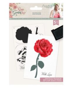 Rose Garden Layered Stamp - Ravishing Rose