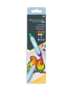 TriColour Aqua Markers - Colour Basics