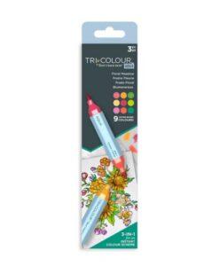 TriColour Aqua Markers - Floral Meadow
