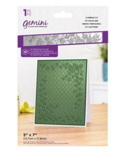 Gemini 3D-Embossing Folder – Climbing Ivy