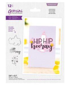 Gemini Expressions Die – Hip Hip Hooray