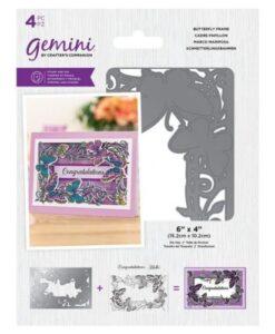 Gemini Stamp & Die - Butterfly Frame