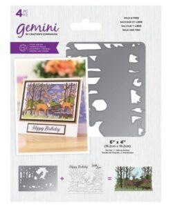 Gemini Stamp & Die - Wild & Free