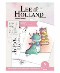 Lee Holland Clearstamp - From Me To You
