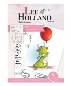 Lee Holland Clearstamp - Hello You
