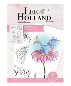 Lee Holland Clearstamp - If Friends Were Flowers