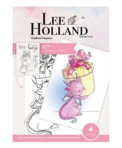 Lee Holland Clearstamp - Thank You