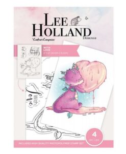 Lee Holland Clearstamp - With Love