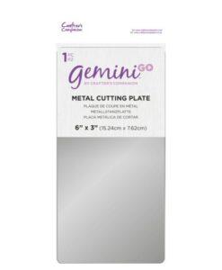 Gemini GO Accessoires - Metalen snijplaat