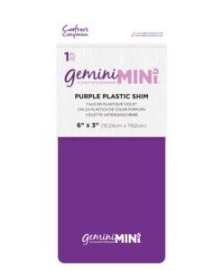Gemini Mini Plastic Shim Paars