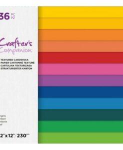 CC - Textured Cardstock - Brights 30x30 cm