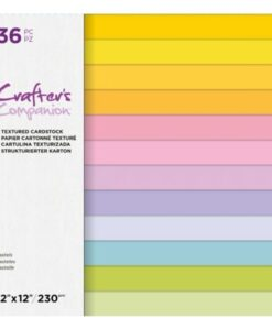 CC - Textured Cardstock - Pastels 30x30 cm