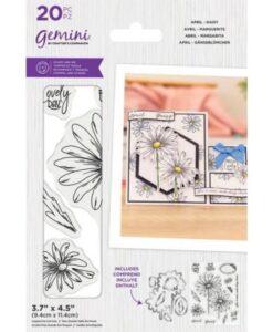Gemini Stamp & Die - April - Daisy