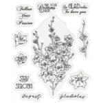 Gemini Stamp & Die - August - Gladiolus