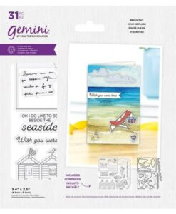 Gemini Best of British Beach Day - Stamp & Die