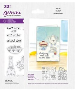 Gemini Best of British High Tea - Stamp & Die