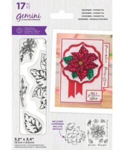 Gemini Stamp & Die - December - Poinsettia