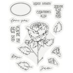 Gemini Stamp & Die - June - Rose