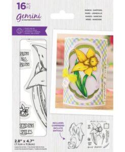 Gemini Stamp & Die - March - Daffodil
