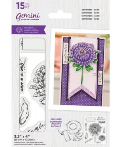 Gemini Stamp & Die - September - Aster