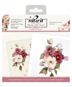 Bloom with Grace - Decoupage Topper Pad