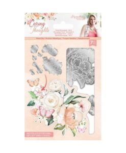Caring Thoughts - Floral Decoupage Set 2 - Metal Die