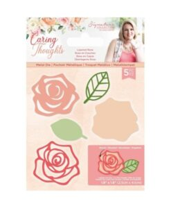 Caring Thoughts - Layered Rose - Metal Die