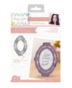 Sharon Callis Vintage Lace - Venetian Lace Frame