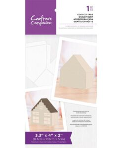 Country Village - Stencil - Cosy Cottage
