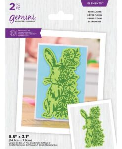 Gemini Elements - Floral Hare