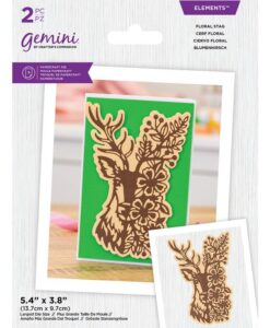 Gemini Elements - Floral Stag