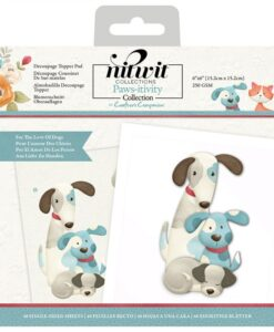 Nitwit Pawsitivity - Decoupage Topper - For the Love of Dogs