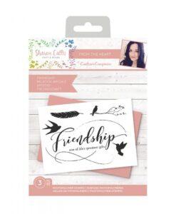 Sharon Callis Clearstamp - Friendship