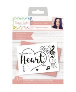Sharon Callis Clearstamp - From the Heart