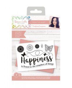 Sharon Callis Clearstamp - Happiness