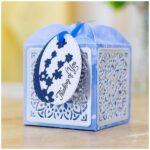 Dimensional snijmal en stencil - Ornate Favour Box