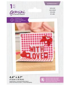 Shaped Pop Out - Snijmal - With Love
