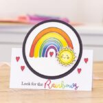 Stamp & Die- Penny Sliders - Look for Rainbows