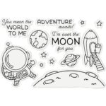 Stamp & Die- Penny Sliders - Over The Moon