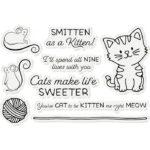 Stamp & Die- Penny Sliders - Smitten As A Kitten