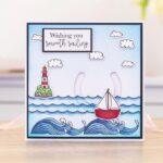 Stamp & Die- Penny Sliders - Smooth Sailing